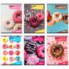 Eurocom Street: Donuts vonalas füzet - A5, 31-32, többféle