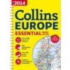 Európa atlasz (Essential Road - A4) 2014 - Collins