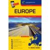 EURÓPA AUTÓATLASZ 2015-2016 (KÖTÖTT) 1:800.000