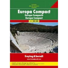 Európa útvonaltervező atlasza - f&b ECAA RO térkép
