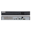 EuroVideo EVD-T16/400A4FH HD-TVI Hybrid DVR, 16 cs., 400 fps/1080p, 4 audio BE, 1 audio KI,VGA, HDMI,2x4 TB SATA HDD
