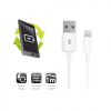 Ewent EW9908 USB Lightning cable 1m White