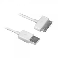 Ewent iPad/iPhone cabel USB 2.1A 1m fehér kábel audió/videó kellék, kábel és adapter