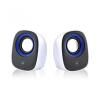 Ewent Speaker set 2.0 USB powered Black/White