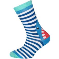 EWERS fiú zokni, cápa, 23- 26, türkiz