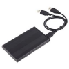 """ExtCaseBla 2.5"""" Külső HDD ház mobil rack (Fekete) SATA USB 2.0 merevlemez tok mobilrack"""