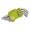 Extol Craft imbuszkulcs készlet, gömbfej végű 1,5-10 mm, 9 db (66000)