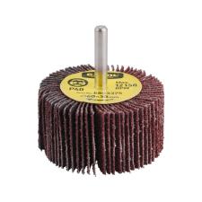 Extol lamellás csiszoló, csapos, 6 mm befogás, Alu-Oxid, 60×30mm; P100 (Lamellás csiszoló) féktárcsa