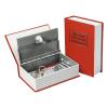 Extol Pénzkazetta, könyv típusú, 2db kulccsal, festett acél ; 245×155×55mm (Pénzkazetta)