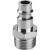 EXTOL PREMIUM 5 EXTOL gyorscsatlakozó-dugó, külső menettel, G-1/2, nikkelezett réz, bliszteren