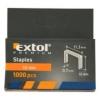 Extol Premium tűzőgépkapocs 10 mm, 1000 db (8852503)