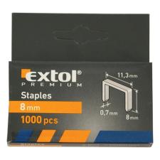 Extol Tűzőgépkapocs (11,3×0,52×0,7); 10mm, 1000db (Kapcsok) gemkapocs, tűzőkapocs