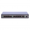 ExtraLink HERMES 8x SFP port GbE Unmanaged Switch; 1x GbE combo (RJ45/SFP) ports