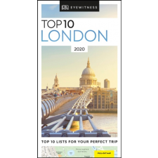 Eyewitness Travel Guide London útikönyv Top 10 DK Eyewitness Guide, angol 2020 grafika, keretezett kép