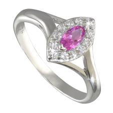 Ezüst gyűrű cirkóniával (ES1597) 50 mm gyűrű