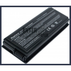F55 series 4400 mAh 6 cella fekete notebook/laptop akku/akkumulátor utángyártott