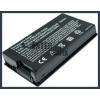 F80Q-X4F 4400 mAh 6 cella fekete notebook/laptop akku/akkumulátor utángyártott