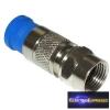 F kompressziós dugó, vízzáró RG6 kábelra