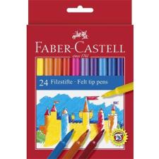 Faber-Castell Filctoll készlet, FABER-CASTELL, 24 különböző szín filctoll, marker