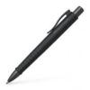 Faber-Castell Golyóstoll, nyomógombos tolltest, fekete tolltest, FABER-CASTELL