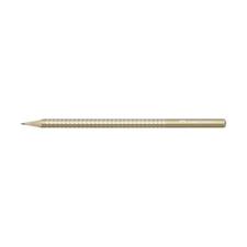 Faber-Castell Grafitceruza FABER-CASTELL 1182 Sparkle Pearl B háromszögletű gyöngyházfényű arany test ceruza