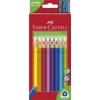 """Faber-Castell Színes ceruza készlet, háromszögletű, FABER-CASTELL \""""Jumbo\"""", 20 különböző szín [20 db]"""