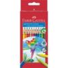 """Faber-Castell Színes ceruza készlet, háromszögletű, FABER-CASTELL \""""Papagáj\"""", 24 különböző szín [24 db]"""