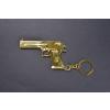 FADECASE 1116 Desert Eagle pisztoly 18K arannyal bevont kulcstartó