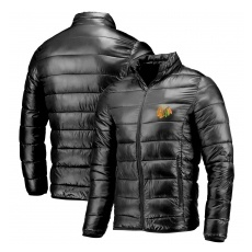 Fanatics Branded Chicago Blackhawks fĂŠrfi kabát black NHL Polyester Puffer - XL,(USA)