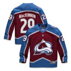 Fanatics Branded Colorado Avalanche gyerek jĂŠgkorong mez purple #29 Nathan MacKinnon Replica Home Jersey - L/XL