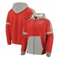 Fanatics Branded Detroit Red Wings fĂŠrfi kapucnis pulóver red Iconic Fleece - XL