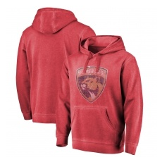 Fanatics Branded Florida Panthers fĂŠrfi kapucnis pulóver red Shadow Washed Logo - XXXL