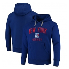 Fanatics Branded New York Rangers fĂŠrfi kapucnis pulóver blue Indestructible Pullover Hoodie - M
