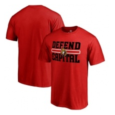 Fanatics Branded Ottawa Senators fĂŠrfi póló red Hometown Defend - XXL
