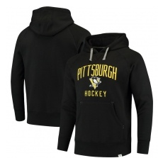Fanatics Branded Pittsburgh Penguins fĂŠrfi kapucnis pulóver black Indestructible Pullover Hoodie - M