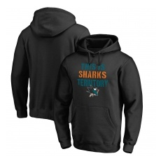 Fanatics Branded San Jose Sharks fĂŠrfi kapucnis pulóver black Hometown Collection - S