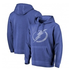 Fanatics Branded Tampa Bay Lightning fĂŠrfi kapucnis pulóver blue Shadow Washed Logo - S