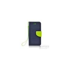 Fancy flip tok Samsung M305 Galaxy M30, kék-zöld tok és táska