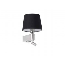 Faro ROOM fali lámpa, olvasókarral, fekete, 2700K melegfehér, E27 foglalattal, fényforrással, 23W, 200 lm, IP20, 29977 világítás