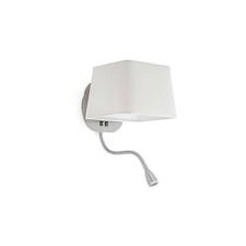 Faro SWEET fali lámpa, olvasókarral, fehér, E27 foglalattal, IP20, 29935 világítás