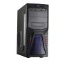 FCPC -13 fekete számítógép ház