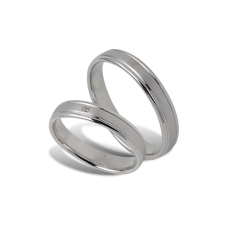 Fehér arany női karikagyűrű - A40418F/52 gyűrű
