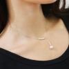 Fehér gyöngyös nyaklánc