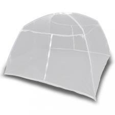 Fehér üvegszálas kempingsátor 200 x 120 x 130 cm kemping felszerelés