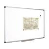 Fehértábla, mágneses, 100x100 cm, alumínium keret