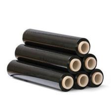 Fekete sztreccsfólia, kézi nyújtható fólia 2 kg 0,5m széles - 6 tekercs/karton papírárú, csomagoló és tárolóeszköz