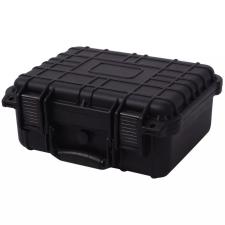 Fekete védőtáska 35 x 29,5 x 15 cm fotós táska, koffer