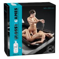 Felfújható orgia medence - fekete (140x200cm) szexjáték