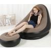 Felfujhatós fotel lábtartóval