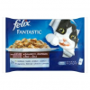 FELIX Fantastic teljes értékű állateledel felnőtt macskák részére nyúllal és báránnyal 4 x 100 g